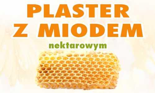 Plaster z miodem nektarowym